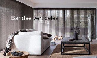 store interieur bordeaux bande verticale dans salon